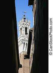 Torre del Mangia belltower.