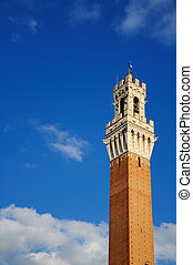 Torre del Mangia (Siena) - Siena is a jewel of the tuscan ...