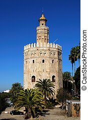 Torre del Oro, Seville, Spain.
