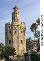 Torre Del Oro - Seville - Spain