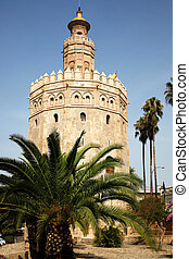 Torre del Oro Seville - the Torre del Oro, Gold Tower, is a ...