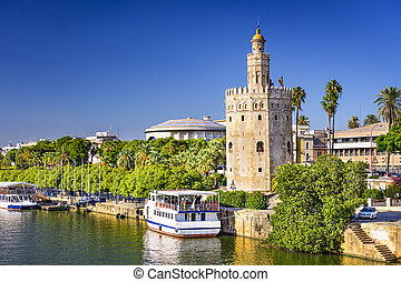 Torre del Oro Tower of Seville