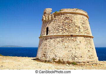 Torre des Garrovet in Babaria Cape Formentera - Torre des ...