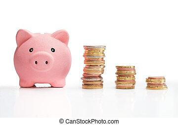 torre, dinero del ahorro