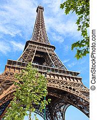 torre eiffel, en, parís francia