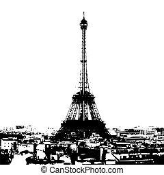 torre, eiffel
