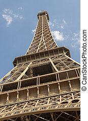 torre eiffel, -, parís, france.