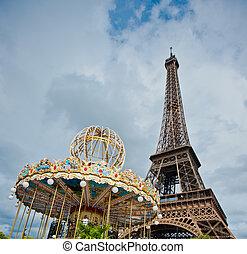 torre eiffel, parís, francia