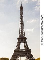 torre,  eiffel,  -,  Paris, França