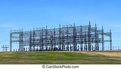 torre, eléctrico