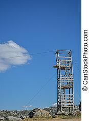 torre, madeira