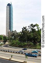 Torre Mayor building in Mexico City