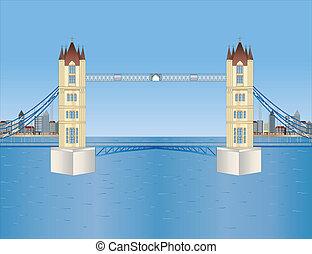 torre ponte, londra