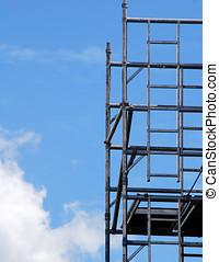 torre, ponteggio