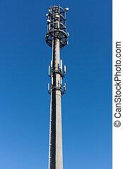 torre, radio, antenna