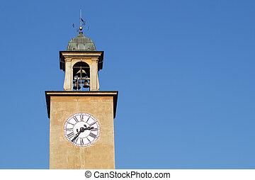 torre, relógio