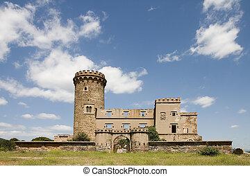 torre, salvana, cataluña