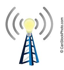 torre, wifi, idea