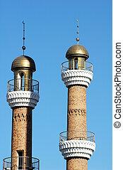torreggiare, moschea