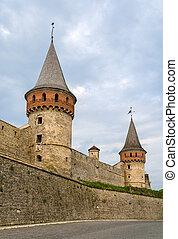 torreggiare, ucraina, kamianets-podilskyi, castello