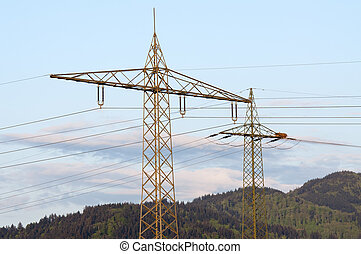 torres, alto-voltagem