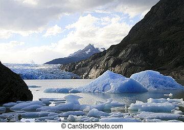 Torres del Paine landscape in Chilean Patagonia