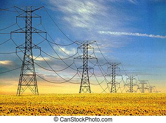 torres, elétrico