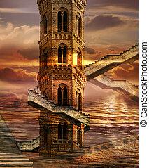 torres, etéreo