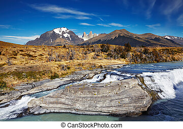 torres paine national park de supr, chile
