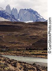 torres paine national park de supr, chile.