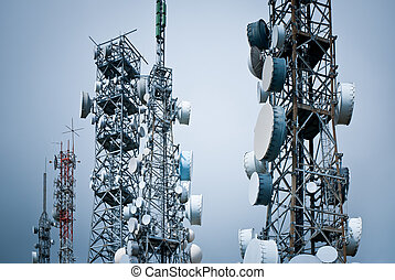 torres, telecomunicaciones