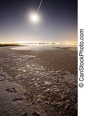Torrevieja Saltworks - Great moonscape in the Torrevieja's...