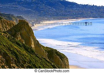 Torrey Pines Beach (Southern California, USA)