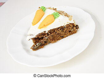 torta, carota, fetta