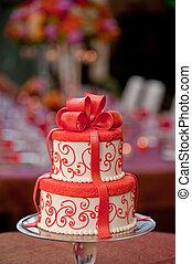 torta, cogliere, matrimonio