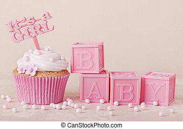 torta, csákány, cupcake