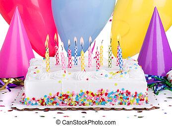 torta, festa, compleanno
