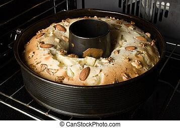 torta, in, il, forno