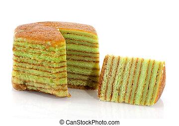 torta, indonesiano, strato