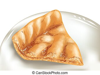 torta maçã