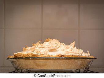 torta, merengue