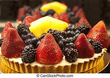 torta, torta frutta
