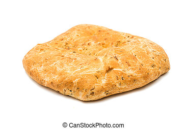 tortilla bread isolated