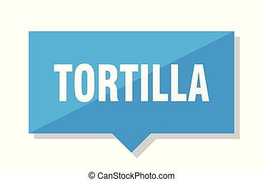 tortilla, cenovka