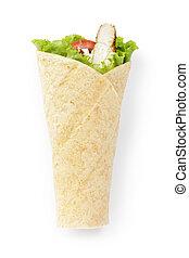 tortilla chicken wrap