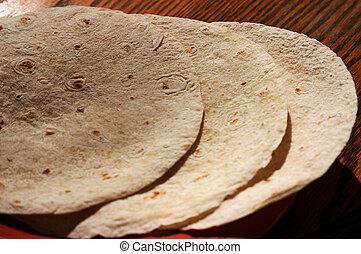 tortilla, conchas