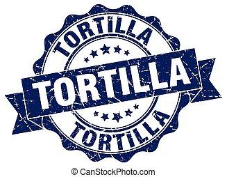 tortilla, stamp., podpis., pečeť
