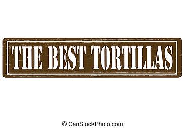 tortillas, am besten