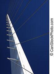 tortue, pont, baie, redding, conçu, cadran solaire, california.