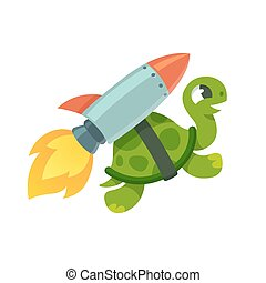 Rapide tortue clipart vectoris recherchez - Tortue rigolote ...